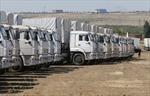 Đoàn xe viện trợ Nga đã tới Lugansk