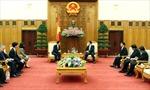 Thủ tướng Nguyễn Tấn Dũng tiếp cựu Thủ tướng Nhật Bản