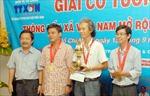 Giải cờ tướng TTXVN mở rộng lần IV năm 2014: HTV giành giải nhất cá nhân và đồng đội