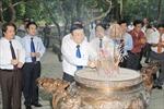 Chủ tịch nước dự lễ kỷ niệm 60 năm Ngày Bác Hồ về thăm Đền Hùng