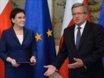 Ba Lan công bố danh sách nội các mới