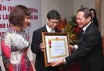 Tạp chí Vietnam Law and Legal Forum nhận Huân chương Lao động hạng Ba