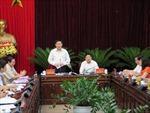 Ban Kinh tế trung ương làm việc tại Bắc Ninh