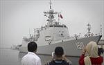 Biên đội tàu hải quân Trung Quốc lần đầu thăm Iran