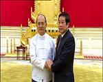 Tổng thống Myanmar tiếp Bộ trưởng Nguyễn Bắc Son