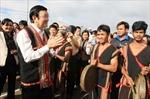 Chủ tịch nước Trương Tấn Sang thăm, làm việc tại Kon Tum