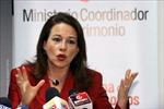 Bộ trưởng Quốc phòng Ecuador từ chức