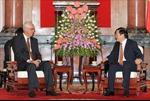 Chủ tịch nước tiếp nguyên Thủ tướng Singapore
