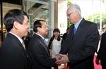 Lãnh đạo TP.HCM tiếp nguyên Thủ tướng Singapore