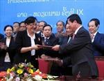 Hợp tác phát triển thương mại Việt Nam - Lào