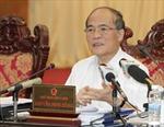 Quốc hội cho ý kiến về đề án đổi mới chương trình, sách giáo khoa