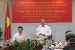 Phó Thủ tướng Nguyễn Xuân Phúc chỉ đạo chống buôn lậu
