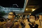 Cảnh sát phong tỏa trụ sở chính quyền Đặc khu Hong Kong
