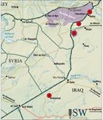 Lực lượng người Kurd đẩy lùi IS khỏi cửa khẩu chiến lược