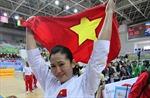 Nguyễn Hoàng Ngân giành huy chương Bạc karatedo