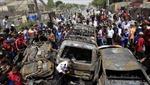 Hiện trường đánh bom đẫm máu tại Baghdad