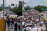 Hàng nghìn người Mexico biểu tình về vụ 43 sinh viên mất tích