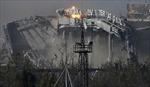 Sân bay Donetsk vụn vỡ sau giao tranh