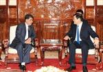Chủ tịch nước Trương Tấn Sang tiếp Đại sứ Qatar
