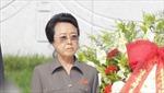 Hình ảnh cô ông Kim Jong-un lại lên truyền hình