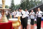 Chủ tịch nước dự lễ truy điệu, an táng hài cốt liệt sĩ