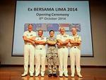 5 nước FPDA tập trận tại Singapore