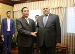 Đồng chí Lê Hồng Anh gặp Thủ tướng Azerbaijan