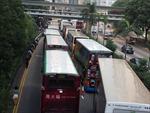 'Chiếm Trung tâm' ở Hong Kong ảnh hưởng gần 50% tuyến xe buýt