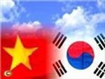 Hàn Quốc thúc đẩy ký FTA với Việt Nam