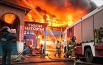 """Vụ cháy chợ """"Bà Côi"""" thiệt hại hàng tỷ rúp"""