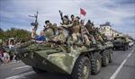Quân ly khai ở Donbass 'đánh đấm' lẫn nhau