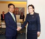 Thủ tướng Nguyễn Tấn Dũng gặp gỡ bên lề Cấp cao ASEM 10