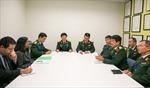 Phó Tổng tham mưu trưởng Võ Văn Tuấn làm việc tại LHQ