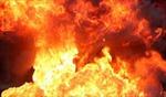 Cháy lớn tại Khu công nghiệp Quang Minh - Hà Nội
