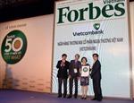 Forbes: Vietcombank là công ty niêm yết tốt nhất Việt Nam