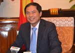 Thứ trưởng Bùi Thanh Sơn trả lời phỏng vấn về chuyến thăm châu Âu của Thủ tướng