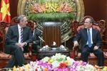 Chủ tịch Quốc hội Nguyễn Sinh Hùng tiếp Đại diện Thương mại Hoa Kỳ