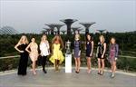 Serena Williams và các tay vợt xinh đẹp tới Singapore