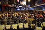 Hong Kong bắt 8 người biểu tình tại Mong Kok