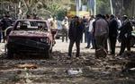 Nổ bom gây nhiều thương vong ngoài Đại học Cairo