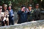 Lãnh đạo Triều Tiên thị sát tập trận quy mô lớn