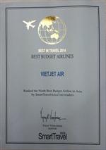 Vietjet vào top 10 hãng hàng không giá rẻ tốt nhất Châu Á