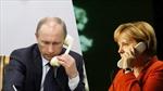 Lãnh đạo Đức, Nga điện đàm về tình hình Ukraine