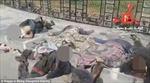 Video khủng bố IS bêu xác không đầu ở Raqqa