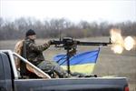 Bắn phá ác liệt gần Donetsk sau bầu cử