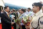 Thủ tướng Nguyễn Tấn Dũng bắt đầu chuyến thăm chính thức Ấn Độ