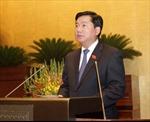 Quốc hội nghe báo cáo về sân bay Long Thành