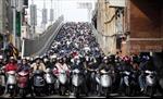 Mô hình cấm xe máy ở Quảng Châu