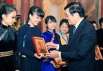 Chủ tịch nước gặp mặt học sinh dân tộc thiểu số tiêu biểu