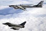Không quân Anh chặn máy bay ném bom Nga